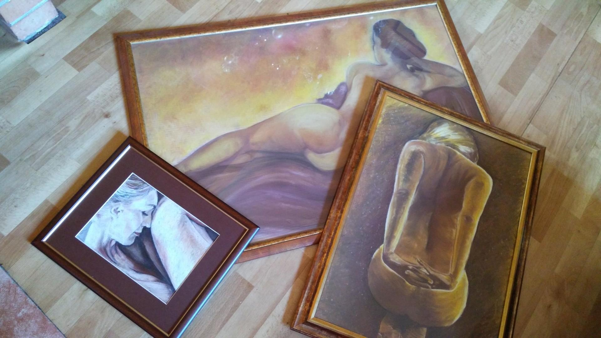 Kolekcia 3 obrazy esencia ženy