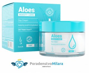 Denný krém na pleť  DuoLife Beauty Care Aloes Day Cream 50 ml