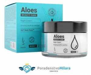 Nočný krém z aloe vera : DuoLife Beauty Care Aloes Night Cream 50 ml